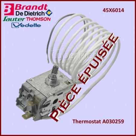Thermostat A030259 - 45X6014***Pièce épuisée***