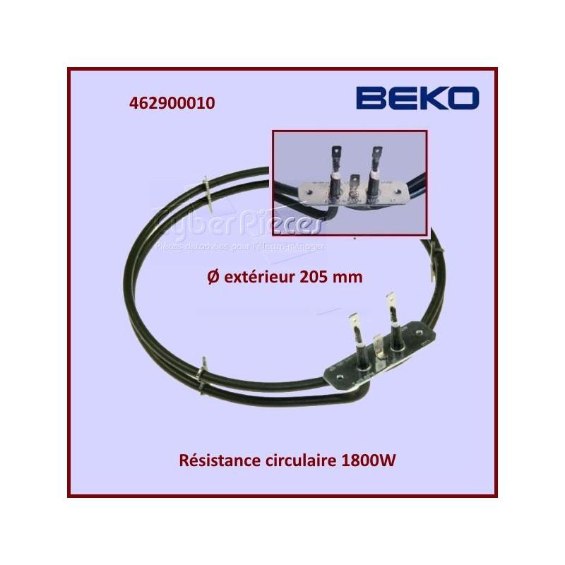 Résistance Circulaire 1800W Beko 462900010