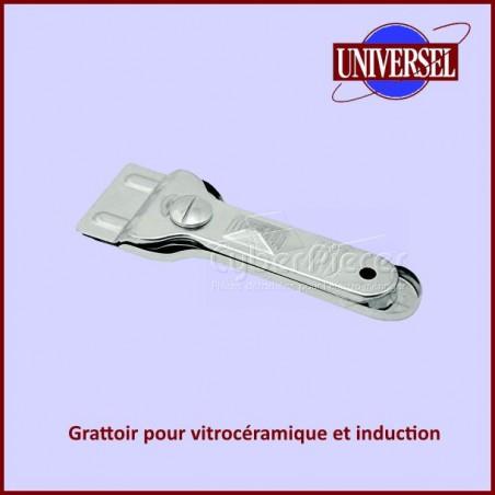 Grattoir pour vitrocéramique et induction
