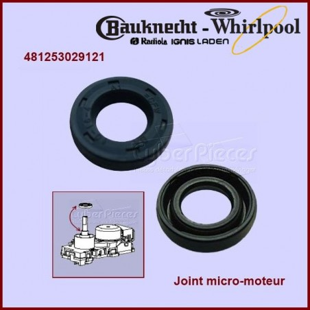Joint micro-moteur Whirlpool 481253029121
