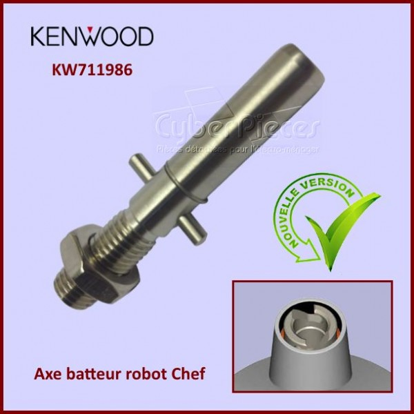 Axe batteur robot Chef Kenwood KW711986