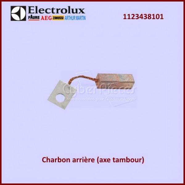 Charbon arrière (axe tambour) Electrolux 1123438101