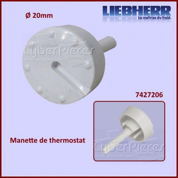 Manette Thermostat Liebherr 7427206