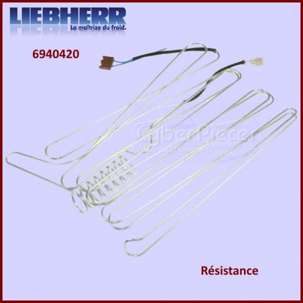 Résistance de réfrigérateur Liebherr 6940420