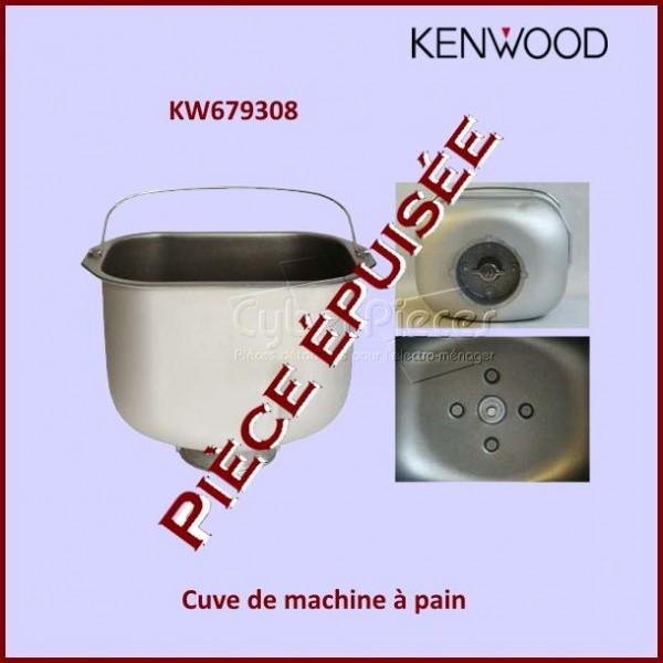 Cuve de machine à Pain BM300 / BM306 - KW679308***Pièce épuisée***