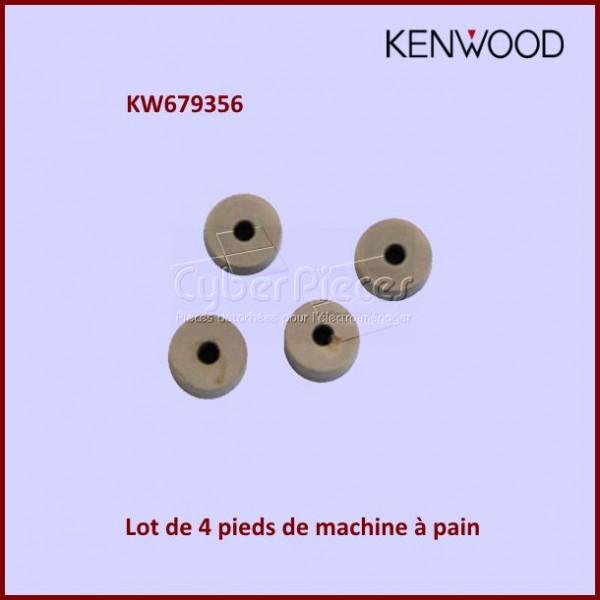 Lot de 4 pieds machine à pain Kenwood KW679356