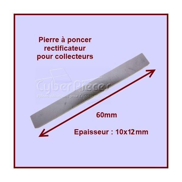 Pierre à poncer spéciale moteurs dimension 10X12 X60mm