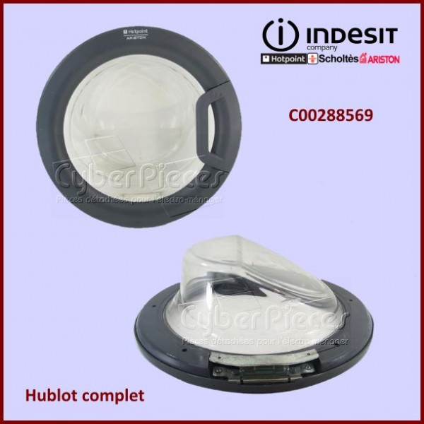 Hublot complet Indesit C00288569