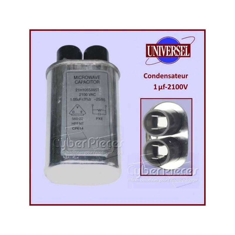 Condensateur 1.00µF 2100V