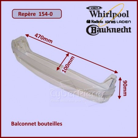 Balconnet Porte-Bouteille 481241829927