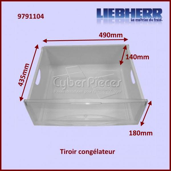 tiroir de cong lateur liebherr 9791104 pour bacs a legumes paniers tiroirs refrigerateurs et. Black Bedroom Furniture Sets. Home Design Ideas