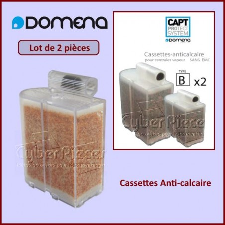 Cassettes Anti-calcaire Non EMC Domena 500970813