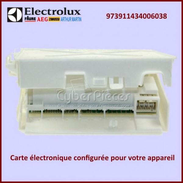 Module electronique configuré EDW1X Electrolux 973911434006038