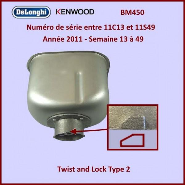 cuve de machine pain bm450 kenwood kw715090 pour machine. Black Bedroom Furniture Sets. Home Design Ideas