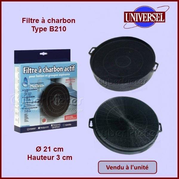 Filtre à charbon Type B210 (AirForce)