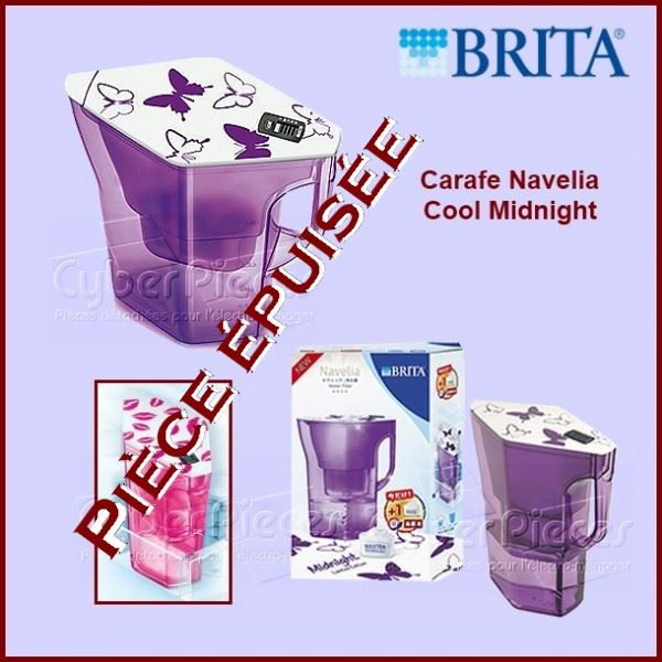 Carafe BRITA Navelia Midnight 1014450***Pièce épuisée***