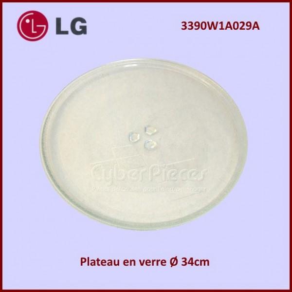 Plateau tournant en verre 340mm LG 3390W1A029A
