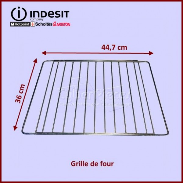 Grille de four 360x447mm Indesit C00131487