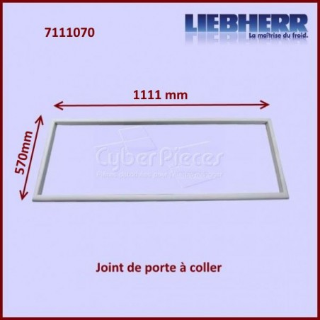 Joint de porte 570x1111mm Liebherr 7111070