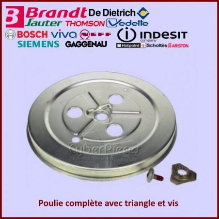 Poulie complète Brandt 52X6225