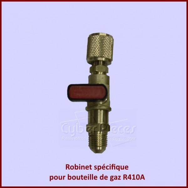 Robinet spécifique pour bouteille de gaz R410A