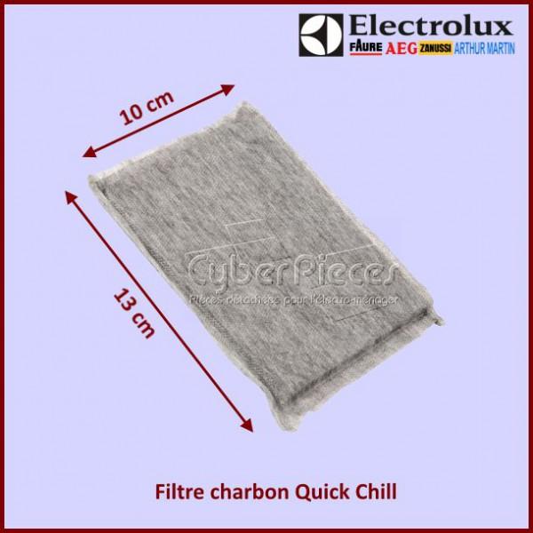 filtre charbon quick chill electrolux 2081625036 pour refrigerateurs et congelateurs froid. Black Bedroom Furniture Sets. Home Design Ideas