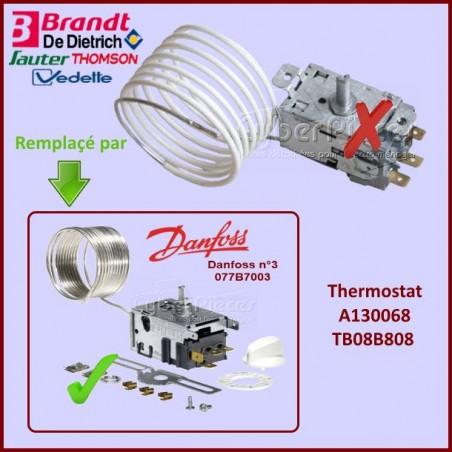 Thermostat A130068 / TB08B808 BRANDT 41X9383