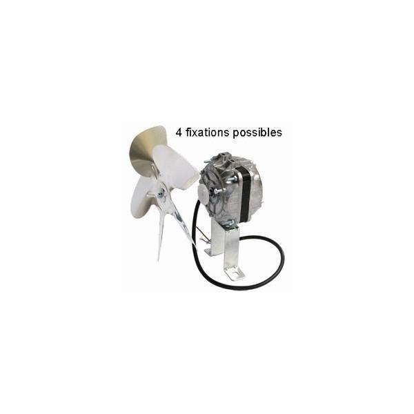 Ventilateur 10w 50 Hz Multifixations  Livré Avec Hélice Ø 250 Mm Et Patte 85 Mm.