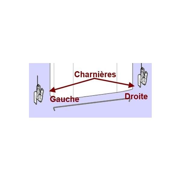 Charnière gauche C00295774