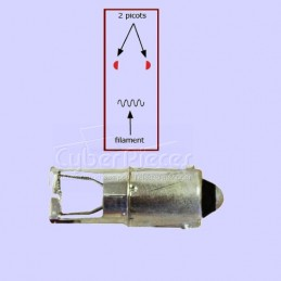Sh500 Allumeur érgots dans l'axe du filament CYB-011686