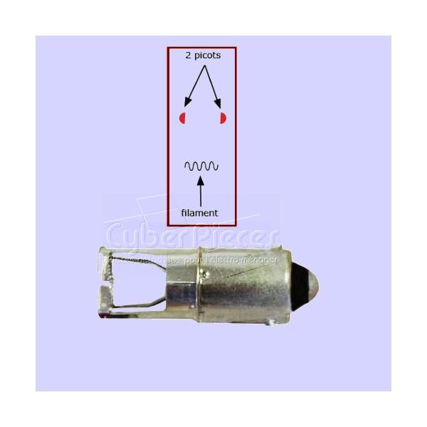 Sh500 Allumeur érgots dans l'axe du filament