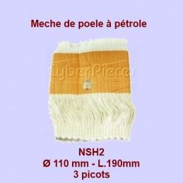 NSH2 Mèche de poêle à...