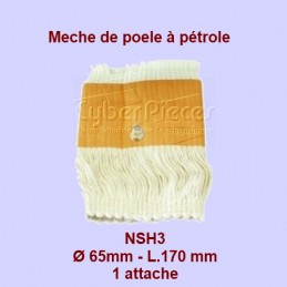 NSH3 Mèche de poêle à...