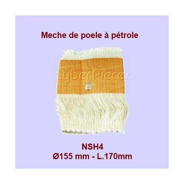 NSH4 Mèche de poêle à pétrole 1 attache S95- 155x170mm