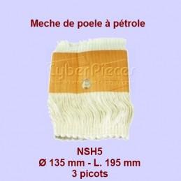 NSH5 Mèche de poêle à...