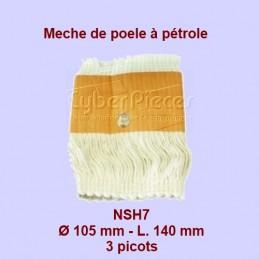 NSH7 Mèche de poêle à...