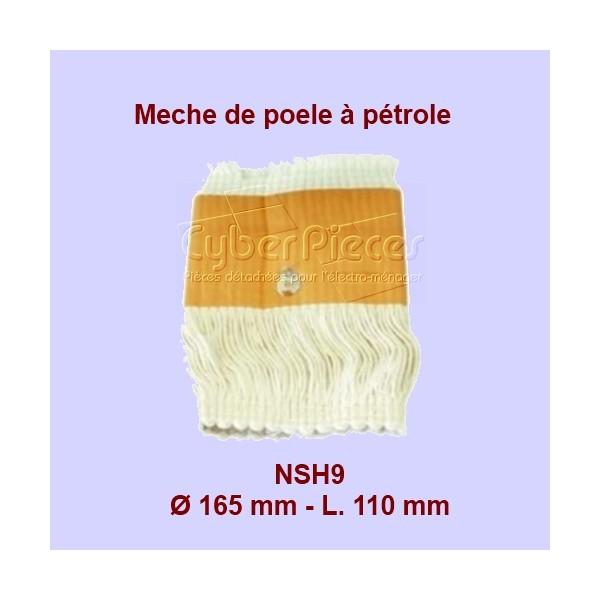NSH9 Mèche de poêle à pétrole-S65 - 165x110mm