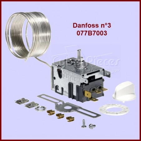 Thermostat Danfoss N°3 - 077B7003 à Dégivrage Automatique