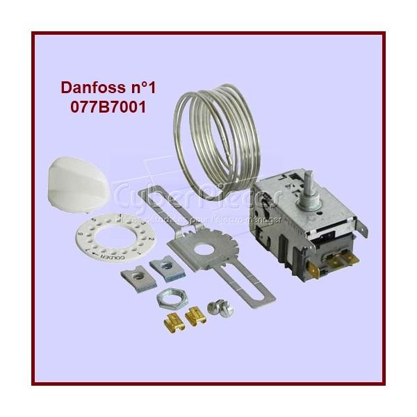 Thermostat Danfoss N°1 - 077B7001 Dégivrage Manuel