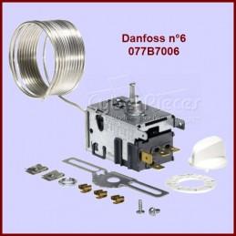 Thermostat Danfoss N°6 - 077B7006 Congélateur avec Alarme CYB-014168