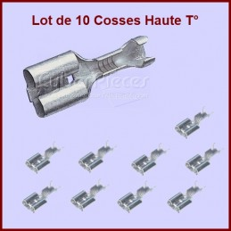 Lot de 10 cosses Haute...