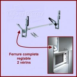 Ferrure complete réglable 2...