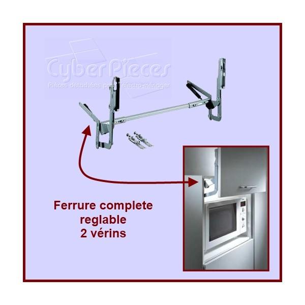 Ferrure complete réglable 2 vérins