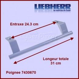 Poignée Blanche entraxe 24,3 cm 7430670 CYB-370912