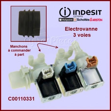 Électrovanne triple à bornier 110331