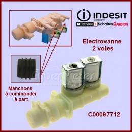 Électrovanne 2 voies 90° - Ø 10 mm à connecteur C00097712 CYB-053068