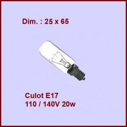 Ampoule Tube E17 125v 20w