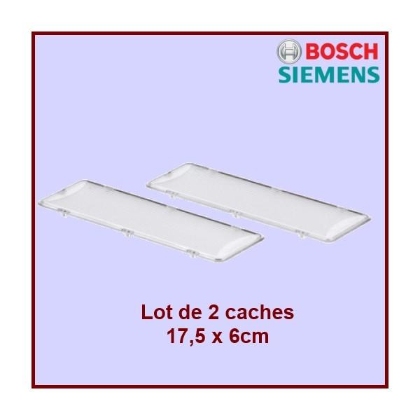 Lot de 2 Caches lumière de hotte Bosch 00264984