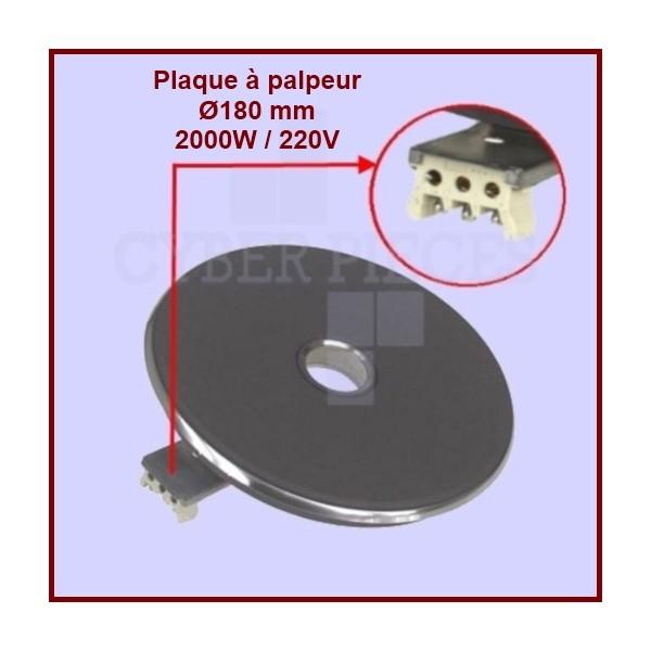 Foyer fonte 2000w/220v - Ø180mm à palpeur