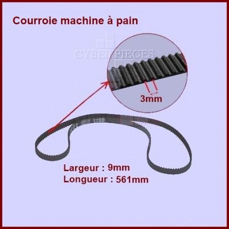 Courroie 561mm machine à pain - SS186089